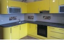 Кухня на заказ 17 нашего производства с пленочными фасадами