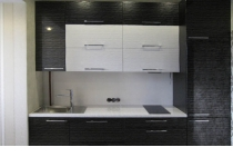 Кухня на заказ 18 нашего производства с пленочными фасадами