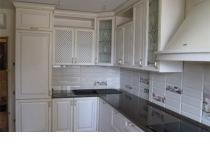 Кухня на заказ 30 нашего производства с крашенными фасадами