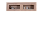 Шкафчик навесной ЛАРСА (LARSA) 2W со стеклом