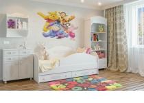 Пример мебели в детскую комнату АССОЛЬ в интерьере