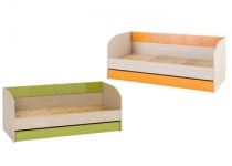 Кровать с ящиком МАУГЛИ 3D МДМ-12 без матраца МФ Санти