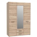 Шкаф трехдверный СОЛО (SOLO) 3D2S с зеркалом
