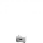 Тумба прикроватная спальня HEKTOR (ГЕКТОР) белая мебель HELVETIA