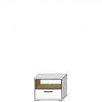 Шкафчик АРТЕ SZFK 1N1S цвет Белый/Дуб каменный