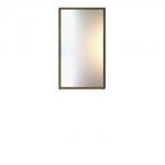 Зеркало навсное АРТЕ LUS цвет Белый/Дуб каменный