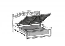 Контейнер с подъемным механизмом к кроватям 180 TARANKO