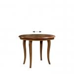 Стол обеденный, круглый, раскладной L-2, мебель TARANKO