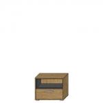 Шкафчик АРТЕ SZFK 1N1S цвет Дуб каменный/Графит